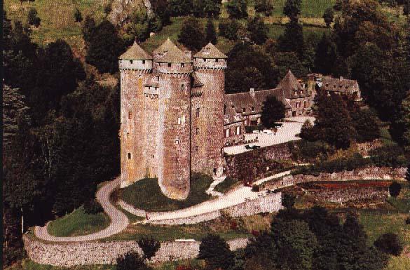 Château d anjony tournemire